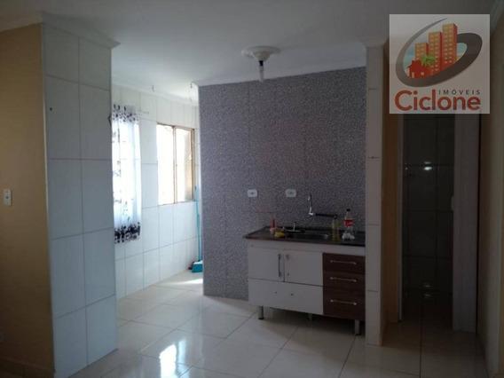 Apartamento Com 2 Dormitórios À Venda, 50 M² Por R$ 65.000 - Conjunto Guapiranga (cdhu) - Itanhaém/sp - Ap0102