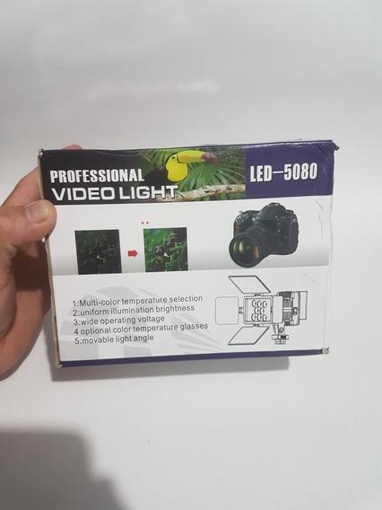 Iluminador Profissional Mod 5080 +bateria Ndf570/55, 8 Led
