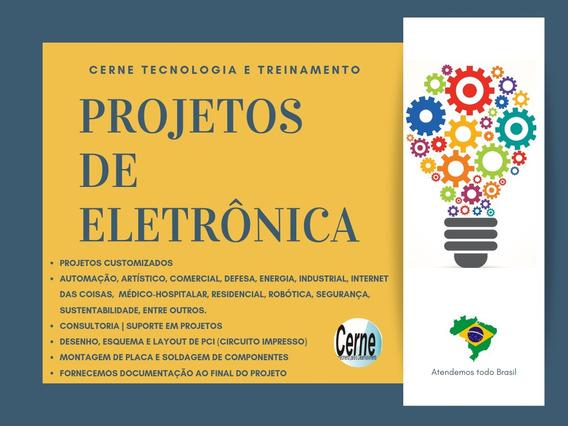 Projetos Eletrônica Pic,arduino,automação,controle De Acesso