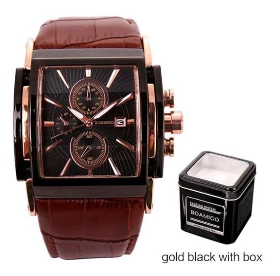 Relógio Casuais Puro Luxo Importado...