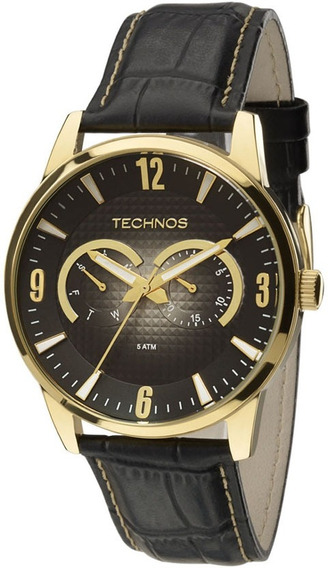 Relógio Technos Masculino Classic Grandtech 6p25ao/2p