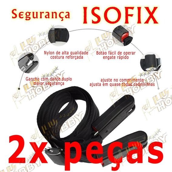 2x Cinto Isofix Para Cadeirinha + Brinde Clip Peitoral