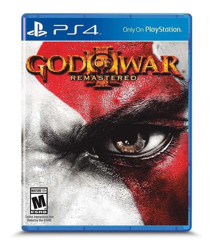 Imagen 1 de 5 de God of War III: Remastered SCEA PS4  Físico