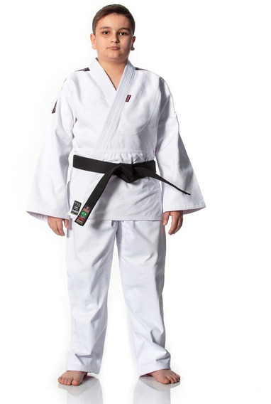 Kimono Judo Trançado Adulto Branco Ou Azul Standart Shiroi