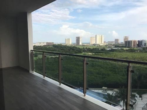 Departamento En Renta De 2 Recamaras Be Towers Puerto Cancun