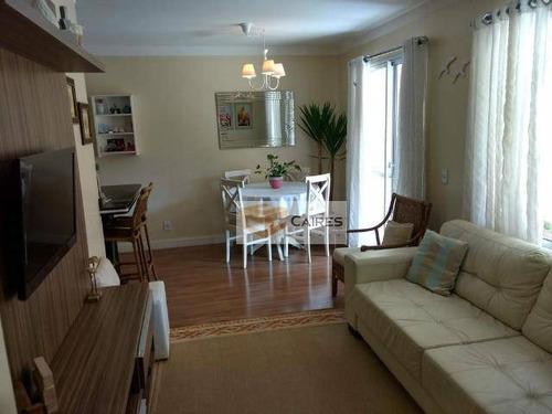 Apartamento Com 2 Dormitórios À Venda, 66 M² Por R$ 420.000,00 - Jardim Santa Genebra - Campinas/sp - Ap7640