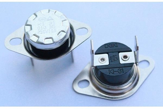 Termostato Ksd301 40 E 45 Grau 10a Tipo Nf Kit 2 Peças
