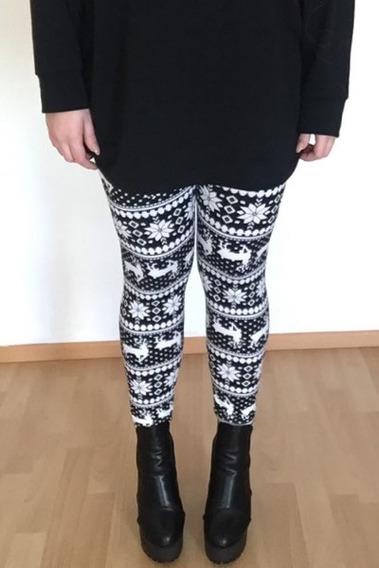 Leggings Elegantes Tiro Alto Para Mujer Talla ?nica