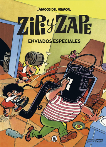 Imagen 1 de 1 de Libro Zipi Y Zape. Enviados Especiales (magos Del Humor 23)