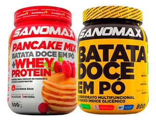 Combo - Pancake Mix + Batata Doce Micronizada - Sanomax