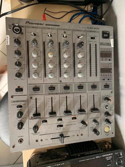Mixer Dj 600 - Faltando Um Knob