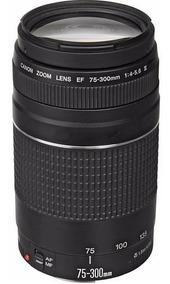 Lente Canon 75-300mm F/4-5.6 Iii - Garantia + Nf