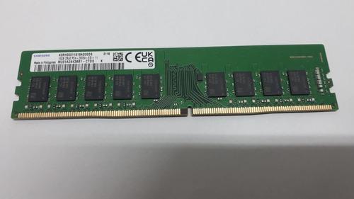 Imagem 1 de 1 de Memória Samsung 16g Ddr4 2666mhz 2rx8 Udimm (p/servidor)
