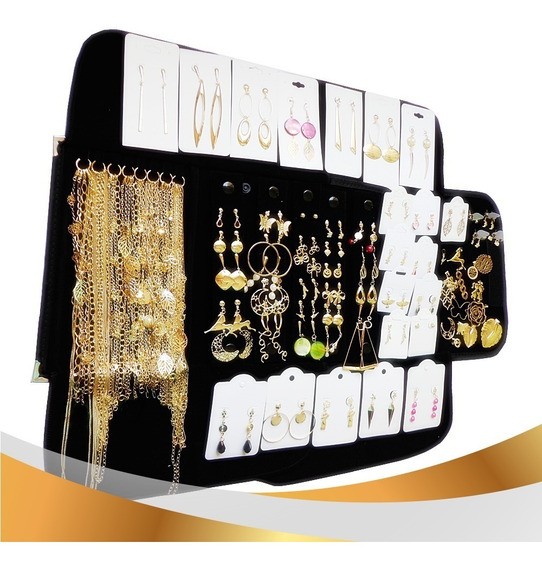 Kit Folheado Ouro Ou Folheado Prata Ou Misto Vc Escolhe - Mostruario 72 Pçs Preço Fabrica Atacado Semijoias Frete Grátis