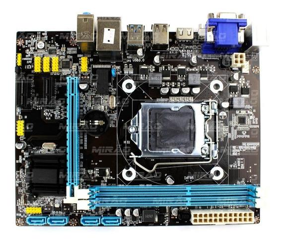 Placa Mae Desk Brazilpc Bpc-h81m-gh Intel 1150 Ddr3 H81