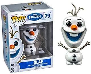 Disney Frozen Glitter Olaf El Muñeco De Nieve Pop. Figura D