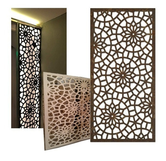 Biombos Divisor De Ambientes Paneles Decorativos