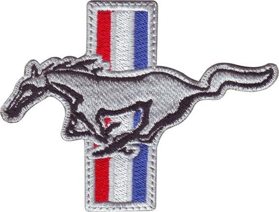 Mustang Clásico Ford Carros Parches Bordados Coser