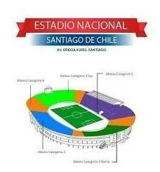 Entrada Copa América Semifinal 1 Estadio Nacional