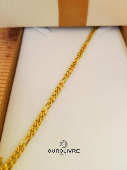 Promoção ! Pulseira De Ouro Masculina 18k 10,9g + Garantia