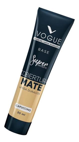 Base De Maquillaje Vogue Super Fantastic Cobertura Mate