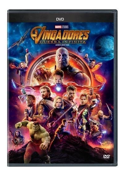 Dvd: Vingadores Guerra Infinita - Original Lacrado