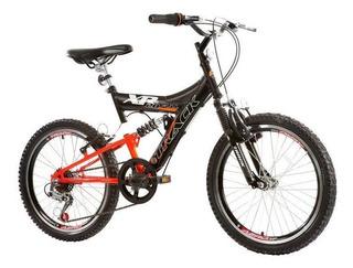Bicicleta Track & Bikes Xr 20 Full, Aro 20, Dupla Suspensão