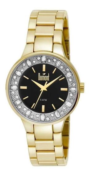 Relógio Dumont Feminino Fashion Dourado Du2035lqi/4p