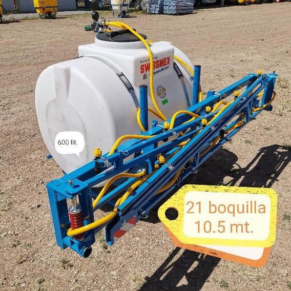 Aspersora Fumigadora Para Tractor De 600 Lts Marca Swissmex