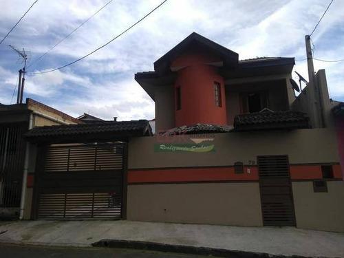 Imagem 1 de 5 de Sobrado Com 3 Dormitórios À Venda, 200 M² Por R$ 550.000 - Jardim Bela Vista - Jacareí/sp - So1131