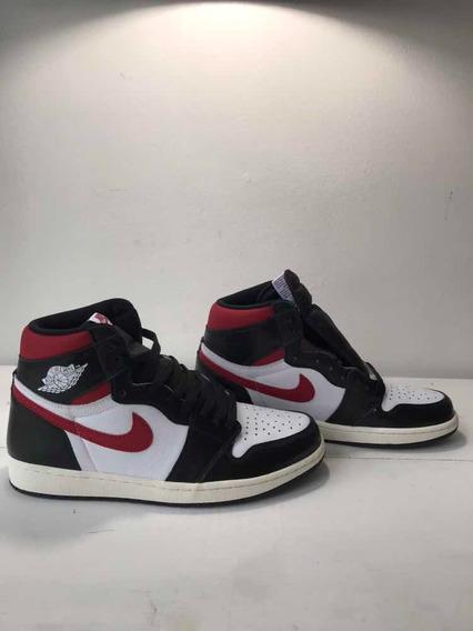 Sneakers Originales Jordan 1 Retro High Black Gym Red Origin