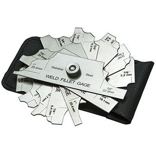 Aliado Tools 7 Piece Soldadura Inspección De Sette De Calib