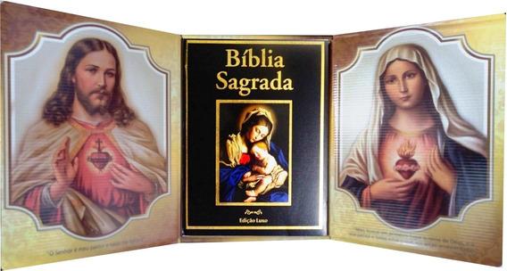 Bíblia Sagrada - Edição Luxo Com Oratório: Capa Preta
