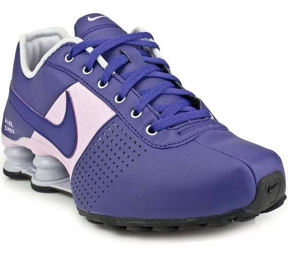 Tênis Nike Shox Deliver Roxo Lilás Original