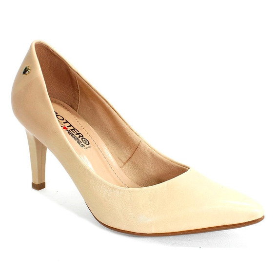 Sapato Feminino Paraisopolis Bottero Nude 239401