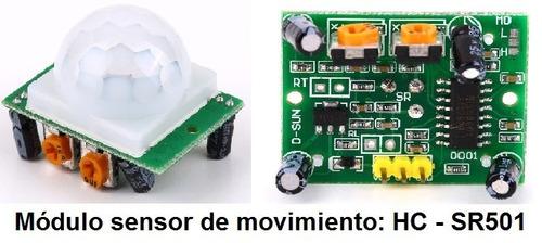 Puntotecno - Sensor De Movimiento Pir Arduino-raspberry