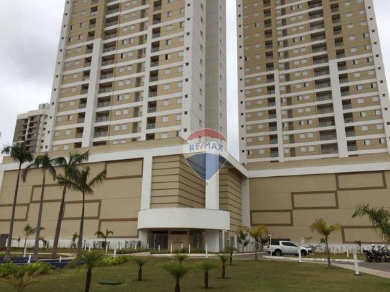 Apartamento Com 3 Dormitórios Para Alugar, 78 M² Por R$ 1.900,00/mês - Grande Terceiro - Cuiabá/mt - Ap0339