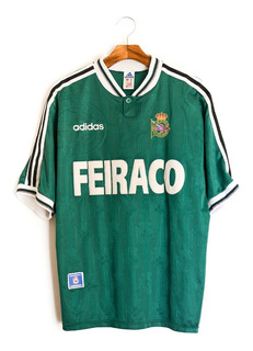 Camisa De Futebol Masculino Deportivo La Coruña 96/98 adidas