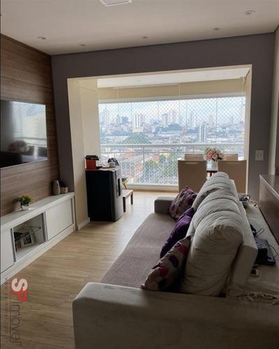 Imagem 1 de 8 de Apto Novo, 2 Dormitorios Sendo 01 Suite, Varanda Grande, 01 Vaga, 63m - Lazer Completo - V2778 - 69545756