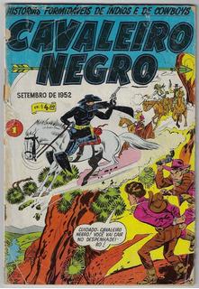 Anos 80 Hq Quadrinhos Cavaleiro Negro Reimpressão Nº 1