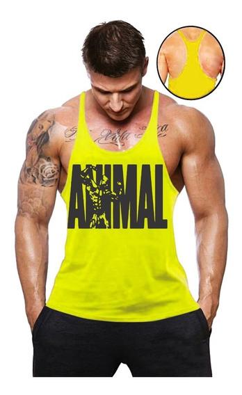 Camisa Blusa Barata Regata Cavada Masculina Academia Animal