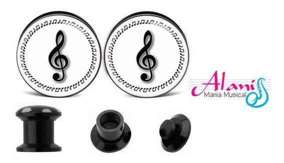 Alargador Piercing Musica - Alanis Mania Musical