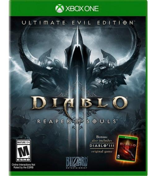 Diablo Iii: Ultimate Evil Edition Xbox One Mídia Física