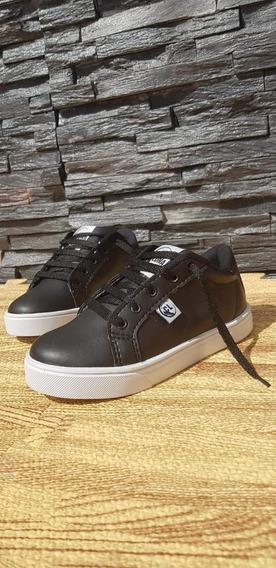 Zapatos Zapatillas Escolar /eco Cuero/ Descuento%