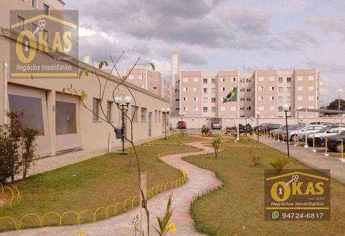 Apartamento Duplex Com 3 Dormitórios À Venda, 96 M² Por R$ 240.000,00 - Vila Urupês - Suzano/sp - Ad0013