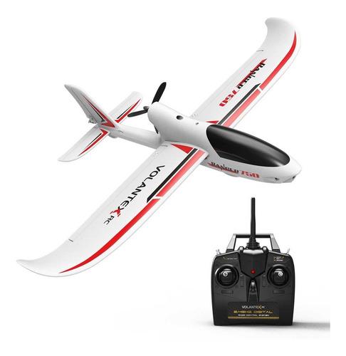 Avión Rc Principiantes 4ch Brushless Con Estabilizador Gyro