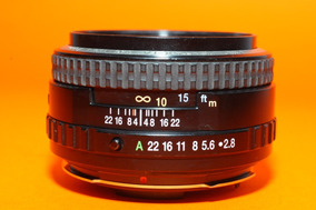 Lente Pentax Smc Fa 645 75mm F2.8 Pentax 645n 645nii