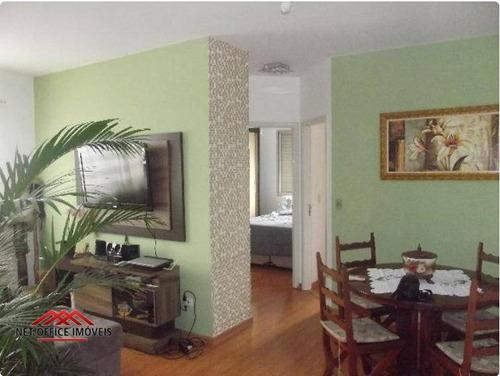 Imagem 1 de 14 de Apartamento Com 2 Dormitórios À Venda, 53 M² Por R$ 170.000,00 - Centro - São José Dos Campos/sp - Ap0800