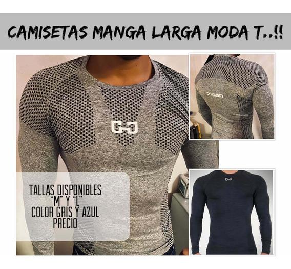 Playeras Deportivas Manga Larga