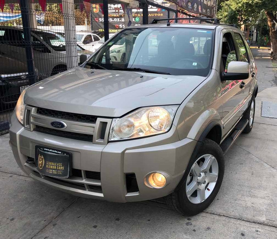 Ford Ecosport Xlt 208 5vel A/ac Ee Ba Abs 2.0lts 4 Cilindros